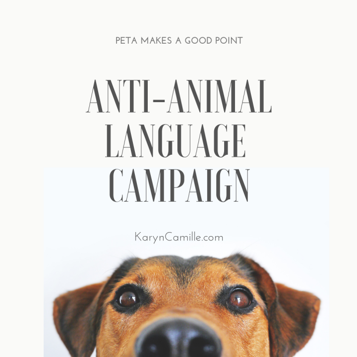 PETA May Actually Have A Point: Anti-Animal Language