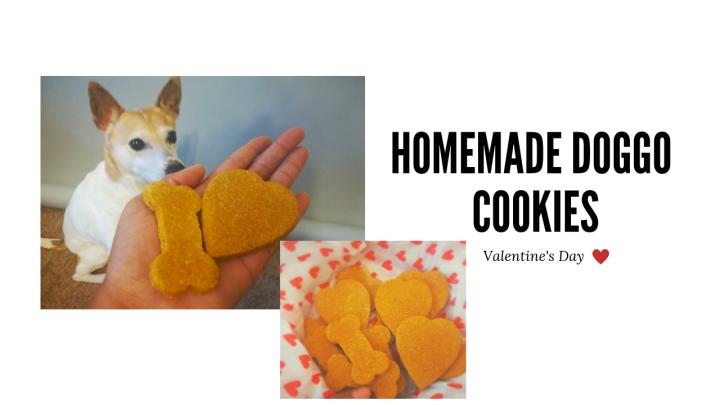 Valentine's Day DoggoCookies
